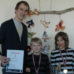 Rīgas Jauno tehniķu centra audzēkņi piedalās Latvijas Robotikas čempionātā