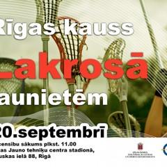 Rīgas kauss Lakrosā jaunietēm