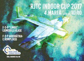 "Telpu lidmodeļu sacensības ""INDOOR CUP 2017"""