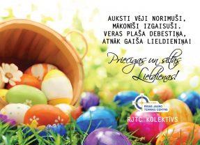 Priecīgas  Lieldienas