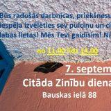 Citāda Zinību diena 7. septembris!!!