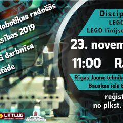 LEGO robotikas radošās sacensības 2019